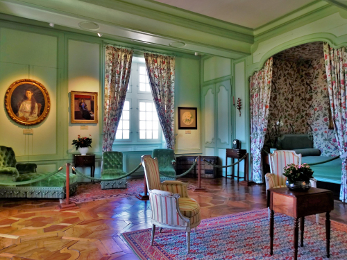 Chambre des Douves du Château de Villandry