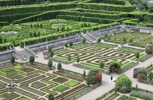 Potager - Château & Jardins de Villandry