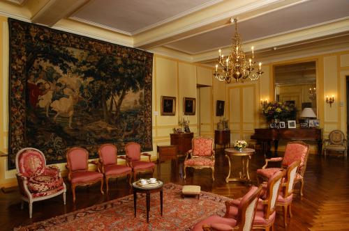 Salon du Château de Villandry
