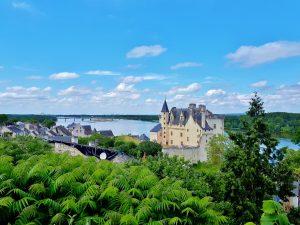 Montsoreau, classé parmi les plus beaux villages de France