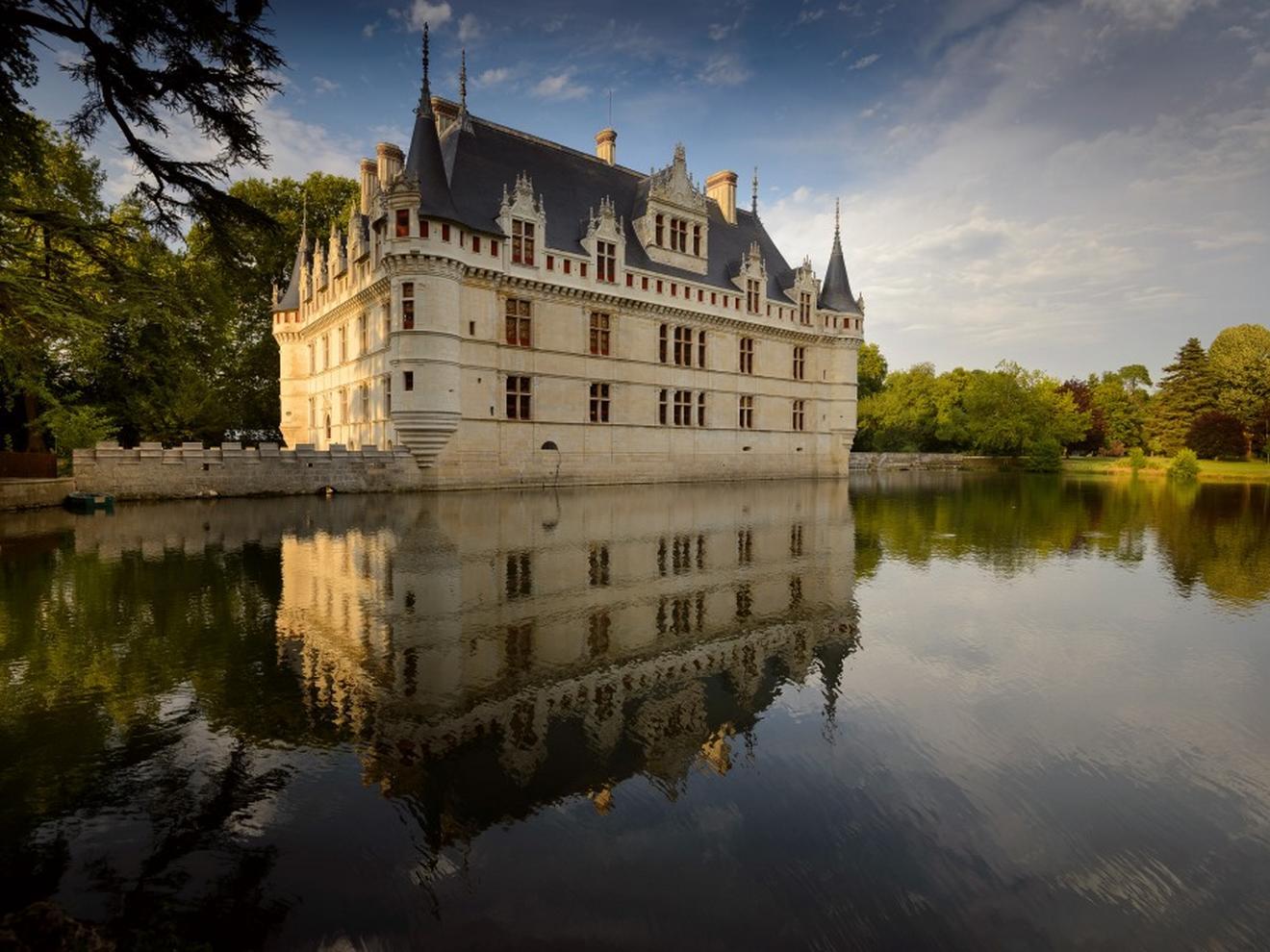 Château d'Azay-le-Rideau Facade
