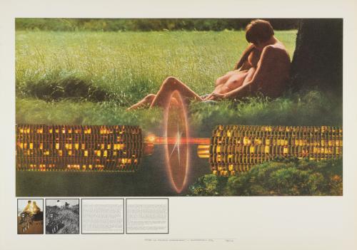 Superstudio Gli Atti Fondamentali Amore, 1971, Supersurface Coll. Frac Centre Val de Loire