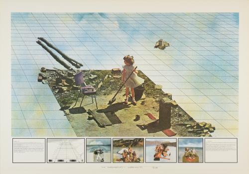 Superstudio Gli Atti Fondamentali Morte, 1971, Supersurface Coll. Frac Centre Val de Loire