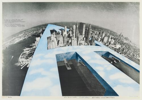 Superstudio manifesto new york exposition FRAC Centre