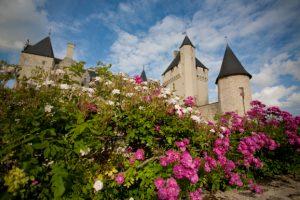chateau du rivau - festival des roses
