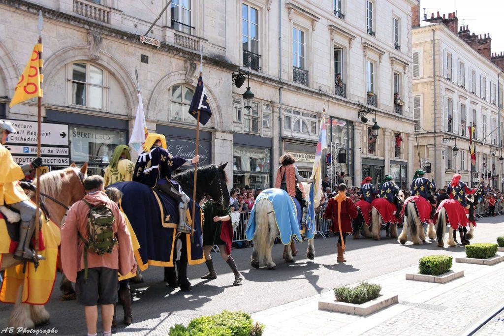 Cortège - Fêtes Jeanne d'Arc 2018 Orléans