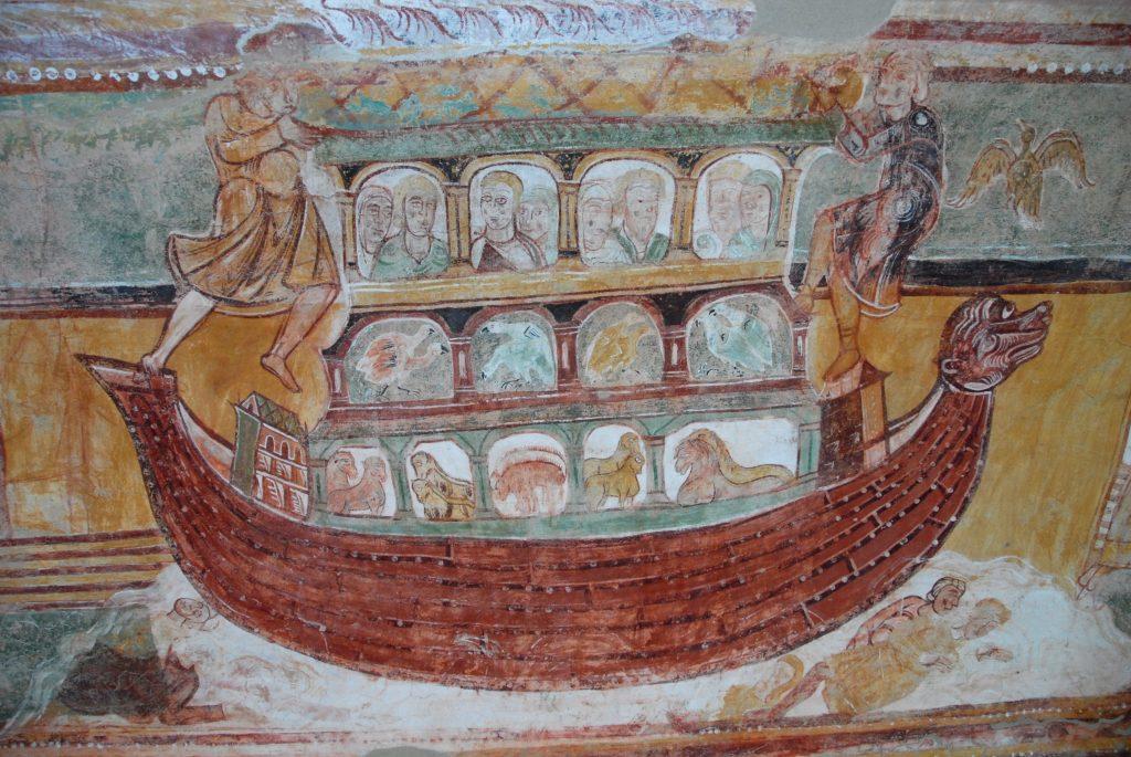 Abbaye StSavin_arche de noé