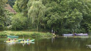 Balade en canoë kayak sur la Vienne