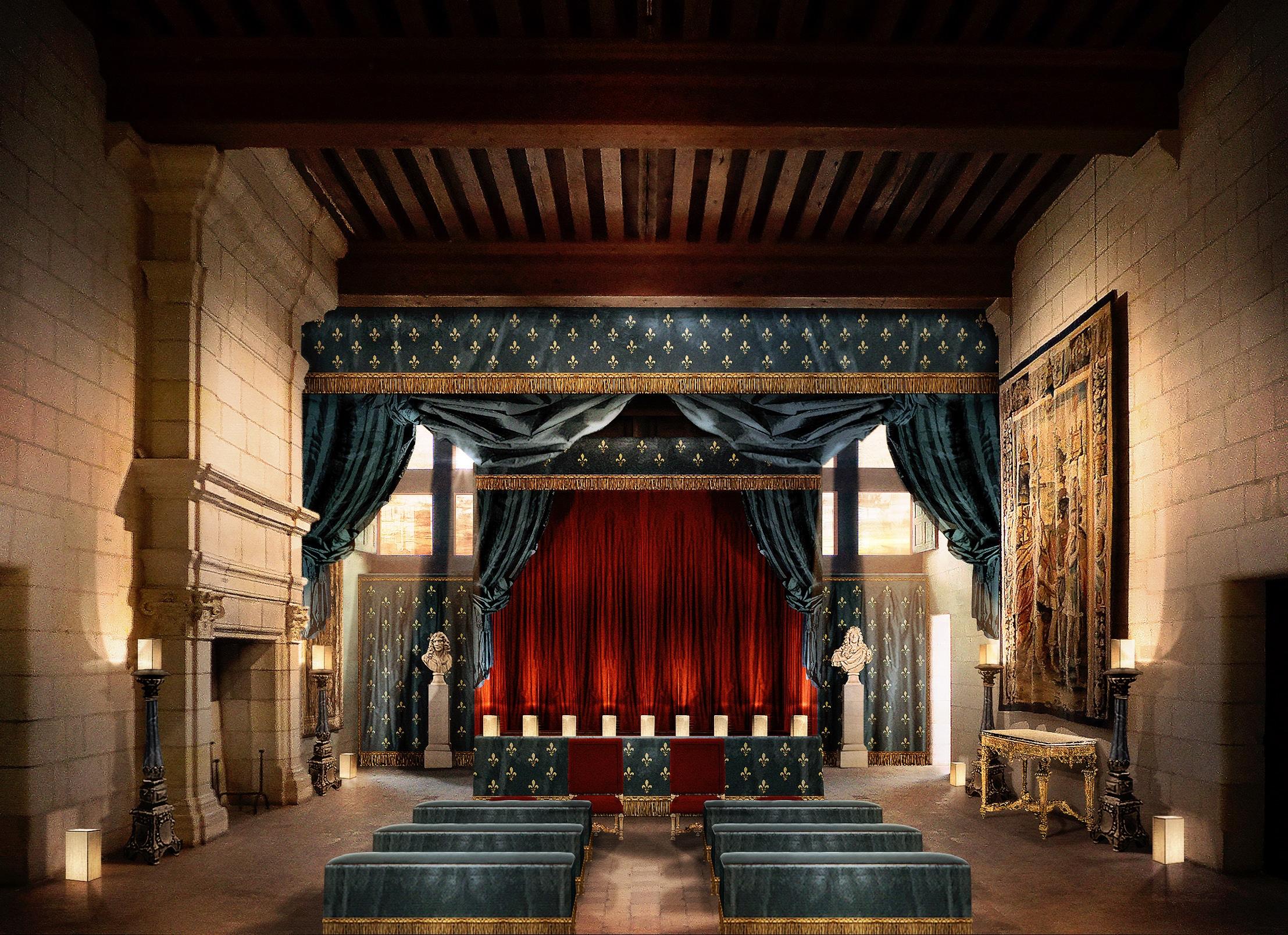 Nouveau décor du Château de Chambord
