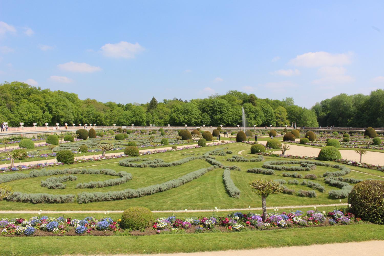 vue-jardin-diane-chenonceau©Boussole Voyageuse