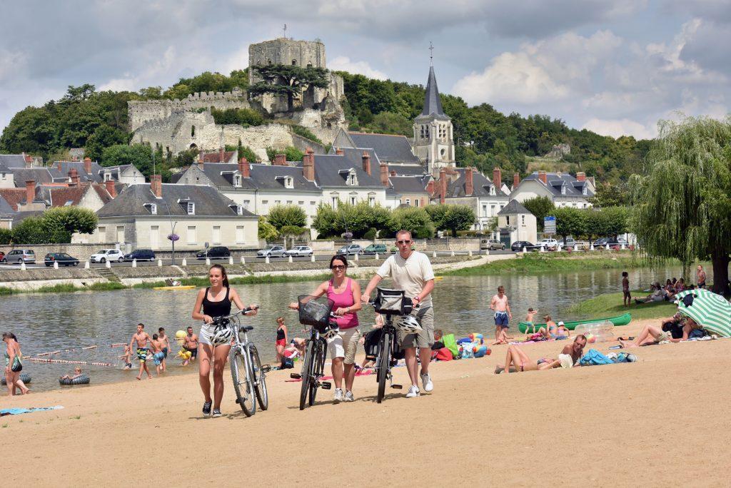 Montrichard, Itinérance à vélo dans la région Centre, dep41, Comité Régional du Tourisme Centre-Val de Loire, France