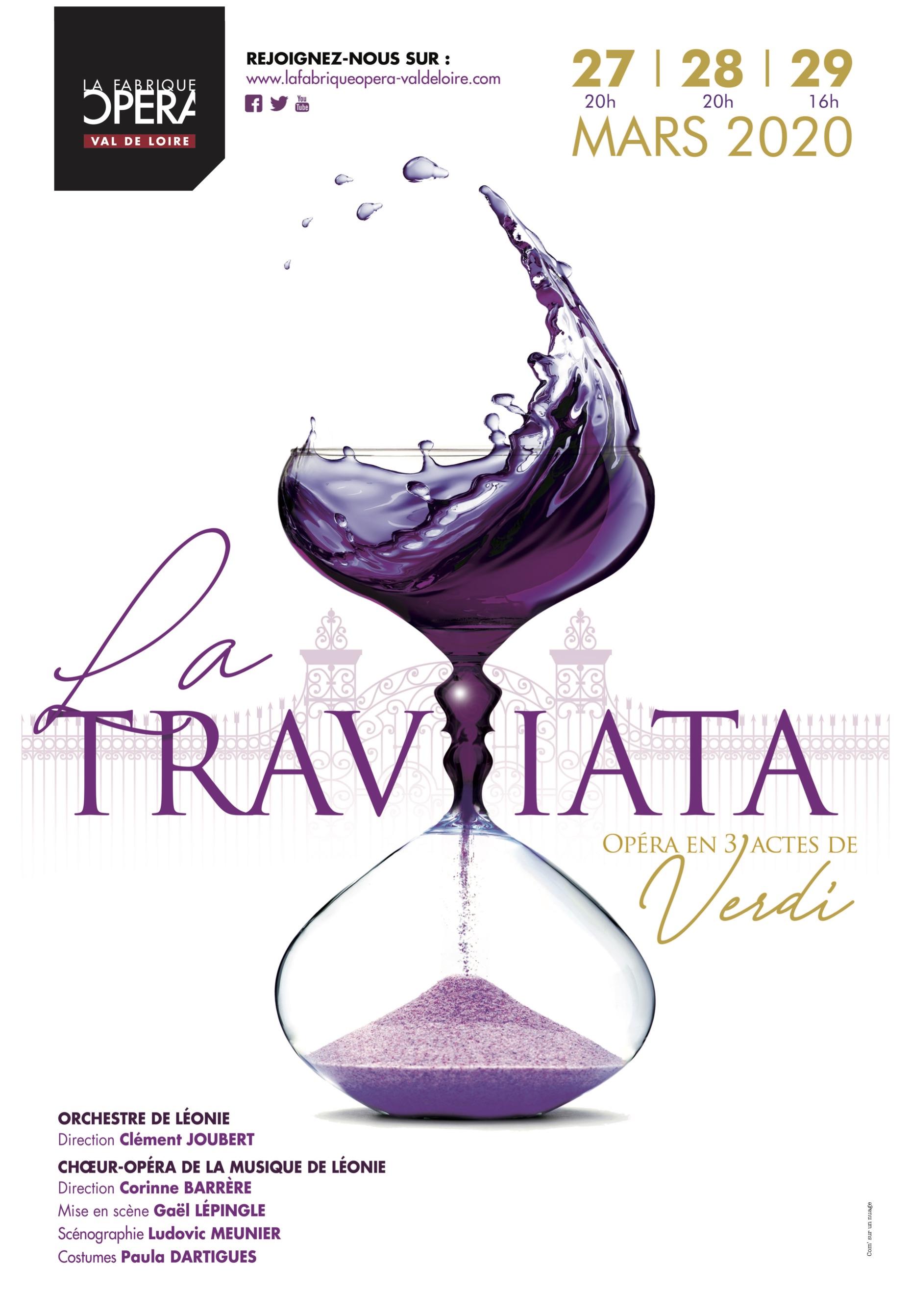 La Traviata, La Fabrique Opéra Val de Loire