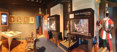 Découvrez le Centre d'interpretation de l'Auld Alliance à Aubigny-sur-Nère