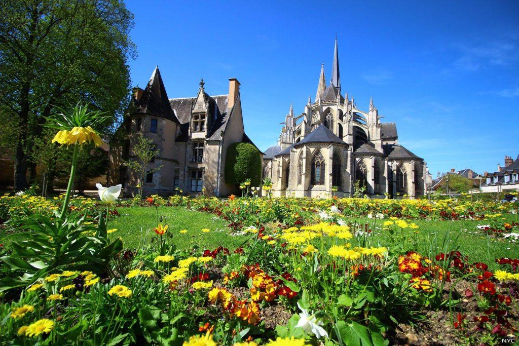 Ville de Vendôme - Abbaye de la Trinité