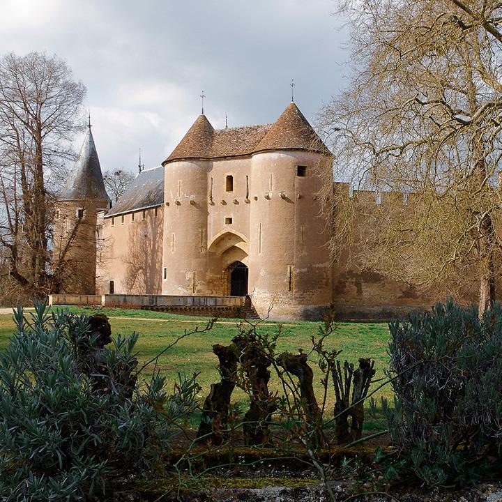 Château d'Ainay le Vieil dans le Berry