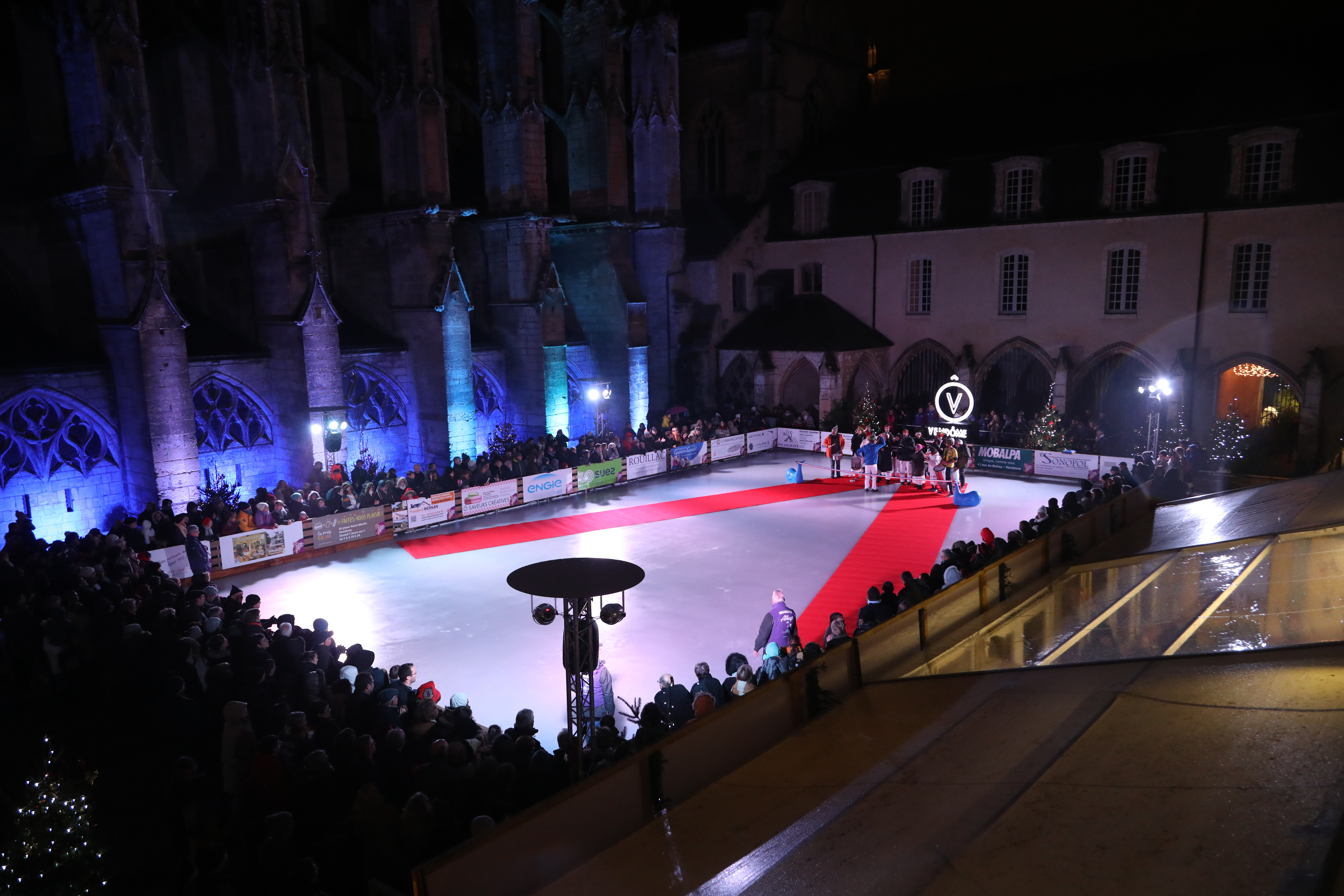 Abbaye on ice