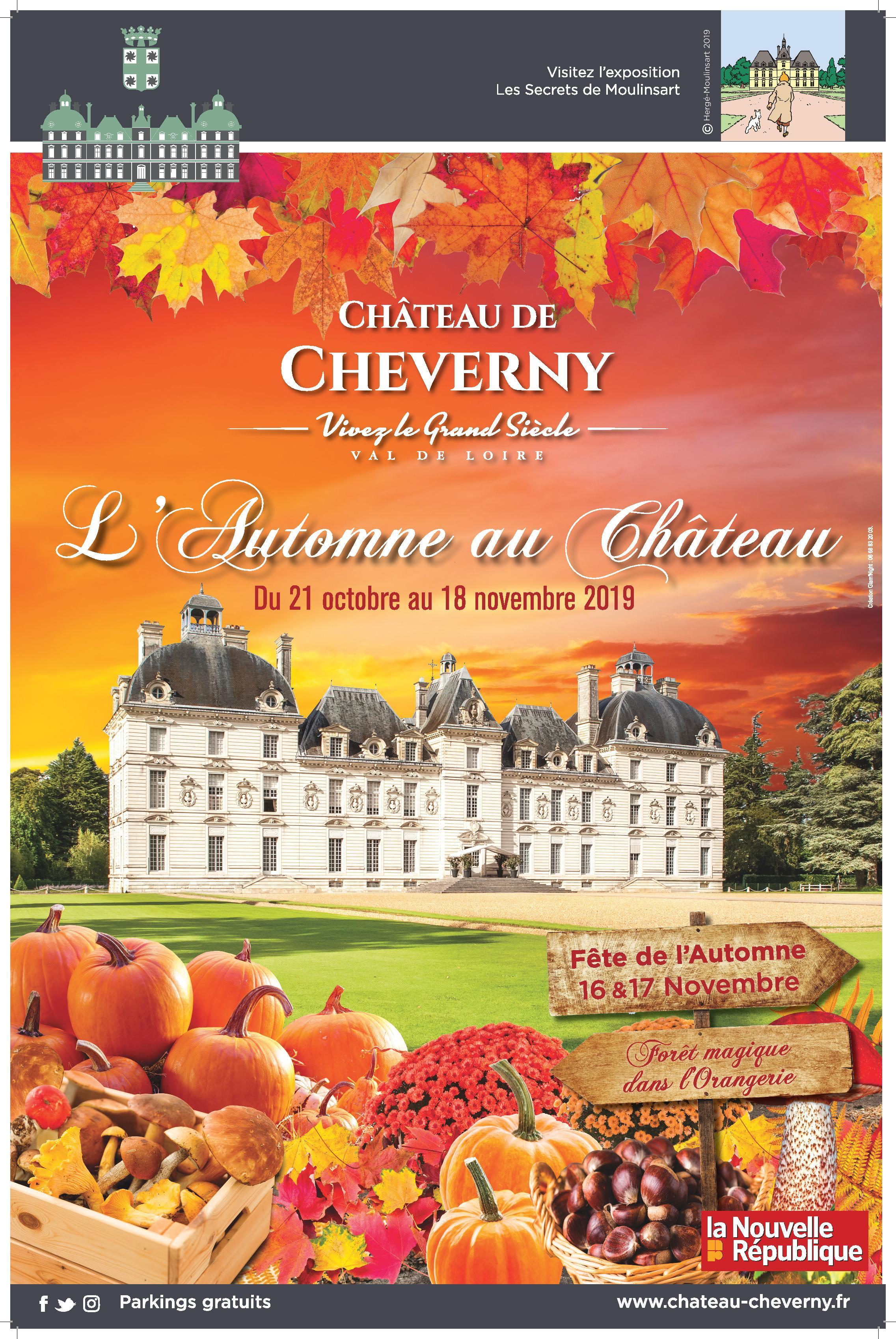 chateau de cheverny - fete de l'automne