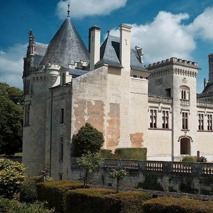 Château de Brézé en Anjou