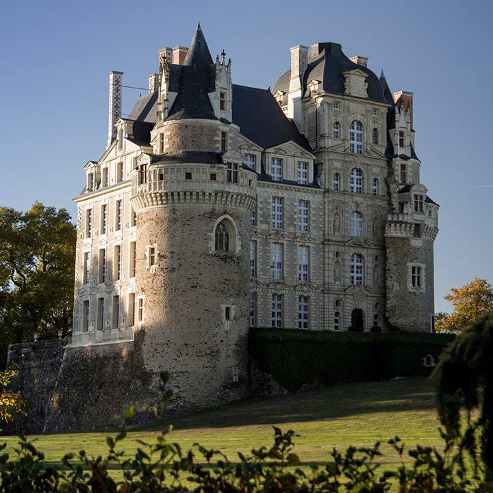 Château de Brissac en Anjou