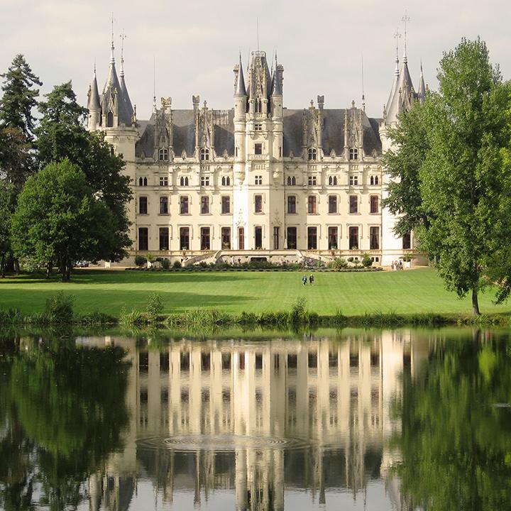 Château de Challain la potherie en Anjou