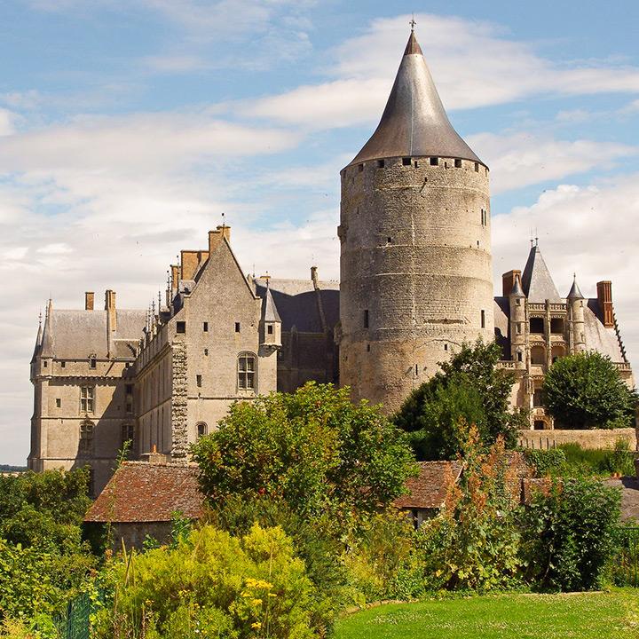 Château de Chateaudun dans l'Eure et Loir