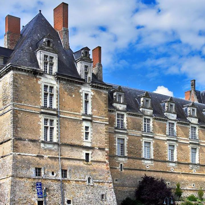 Château de Drutal en Anjou