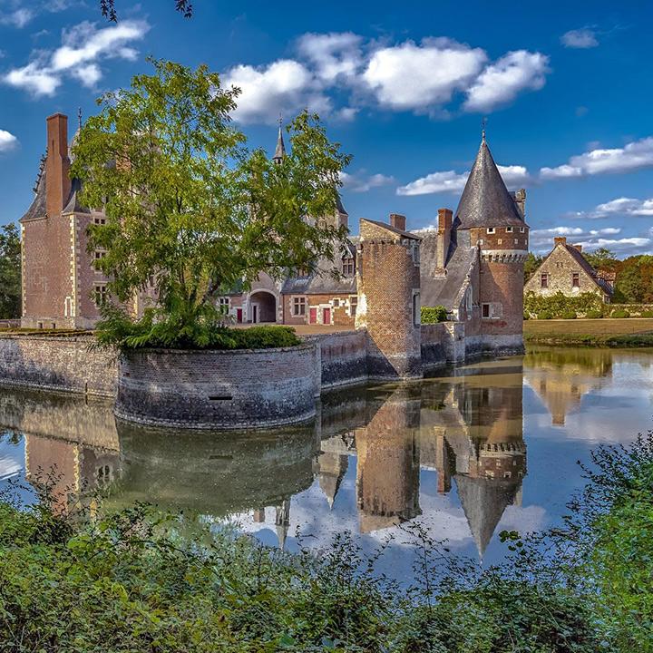 Château du Moulin à Lassay sur Croisne en Loir et Cher