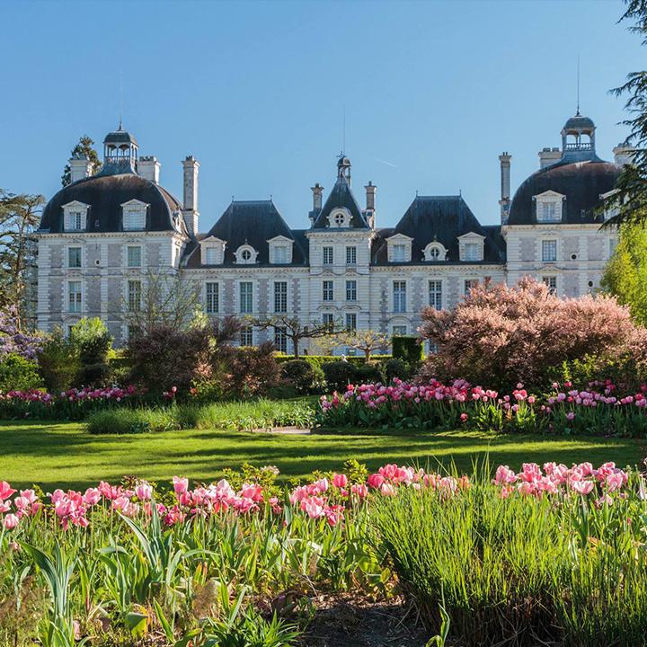 Le château de Cheverny et ses jardins
