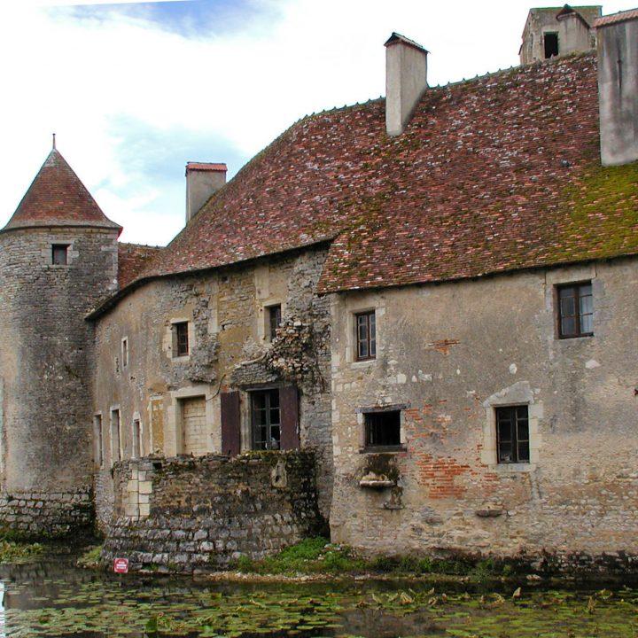 Château de Sagonne dans le Berry