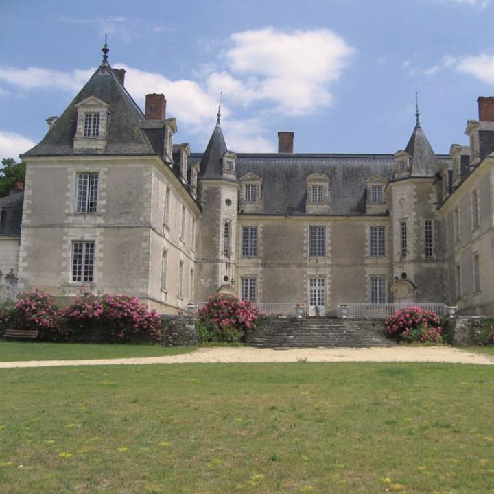 Château de Gizeux en Indre et Loire