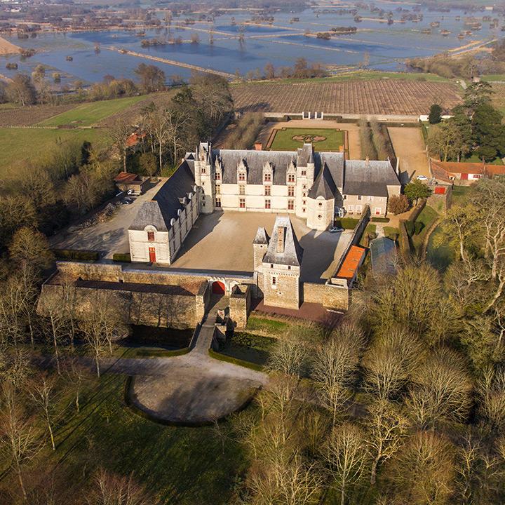Château de la Goulaine en Loire Atlantique