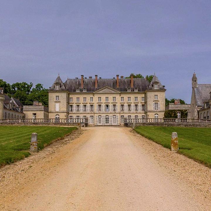 Château de Montgeoffroy en Anjou