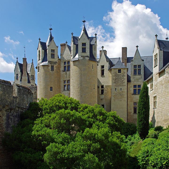 Château de Montreuil Bellay en Anjou