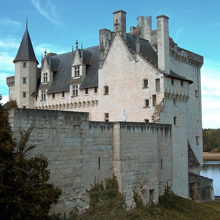 Château de Montsoreau en Anjou