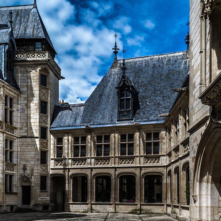Palais Jacques Coeur dans le Berry