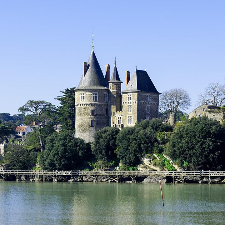 Château de Pornic en Loire Atlantique
