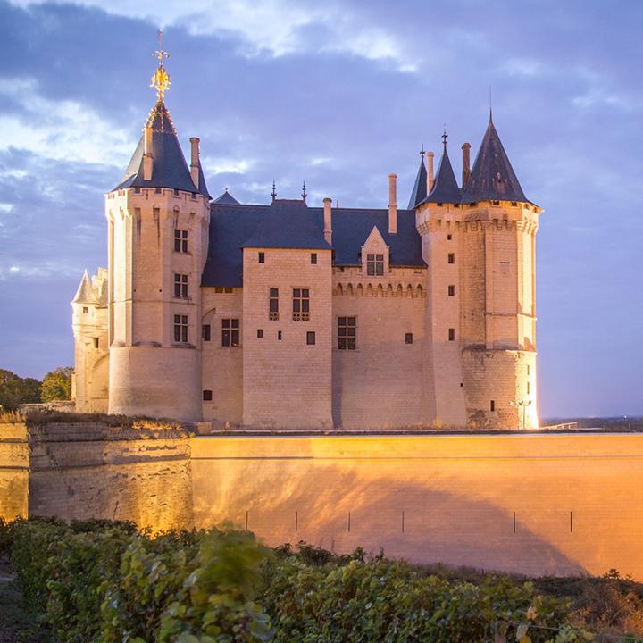 Château de Saumur en Anjou