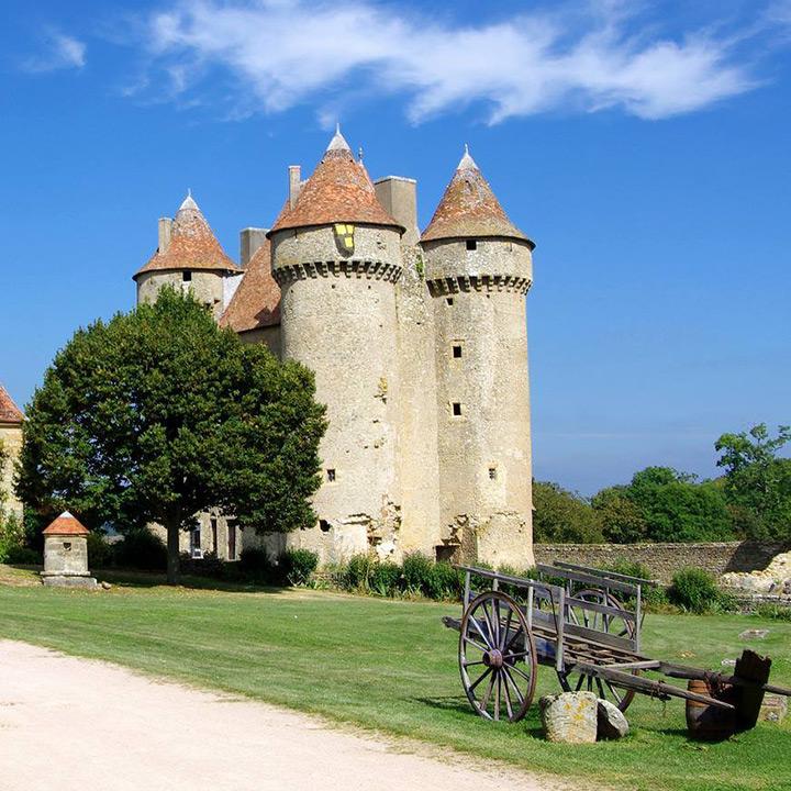Château de Sarzay dans le Berry