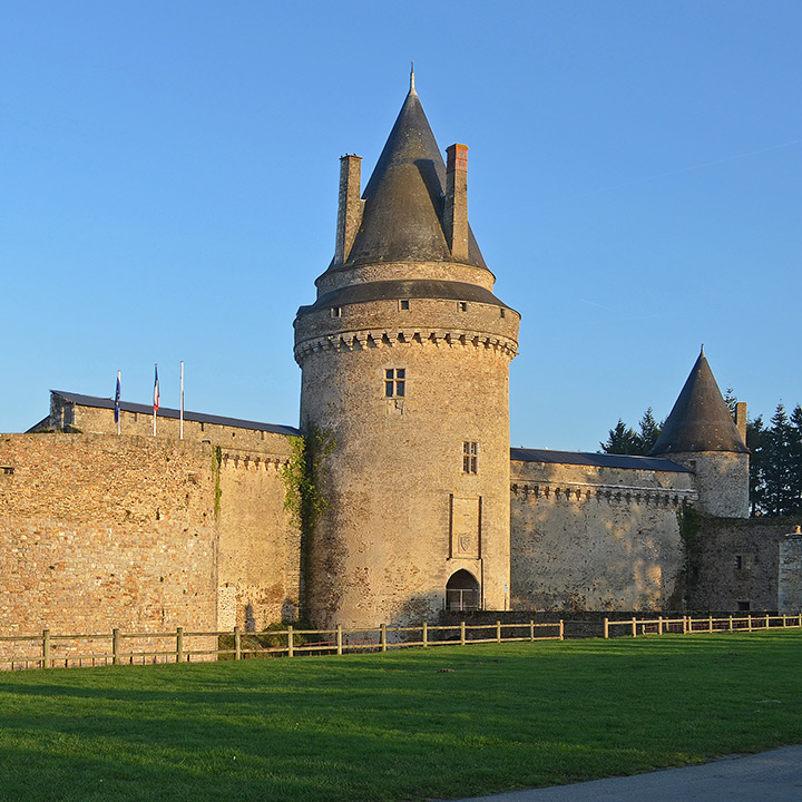 Château de Blain en Loire Atlantique