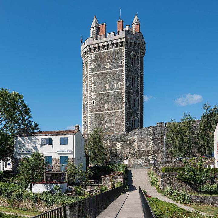 Château d'Oudon en Loire Atlantique
