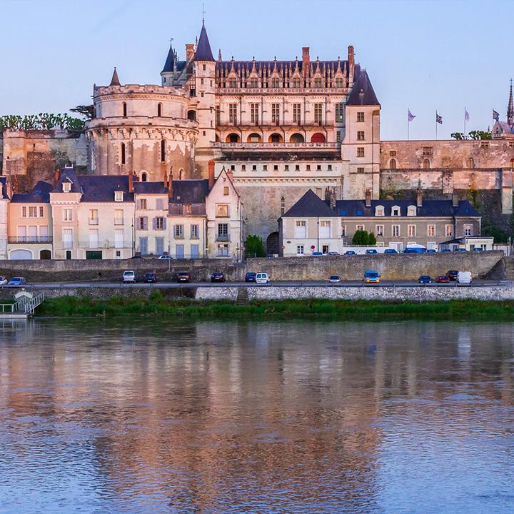 Château d'Amboise en Indre et Loire