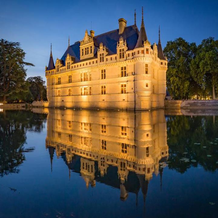 Château d'Azay le Rideau en Indre et Loire