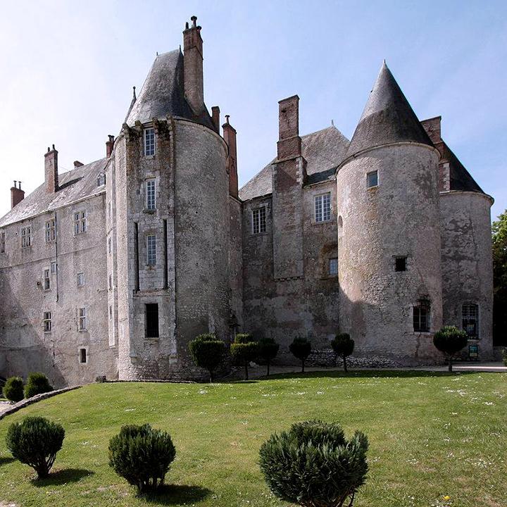 Le château de Meung sur Loire dans le Loiret