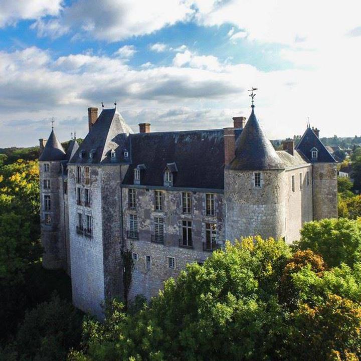 Château de Saint Brisson dur Loire dans le Loiret