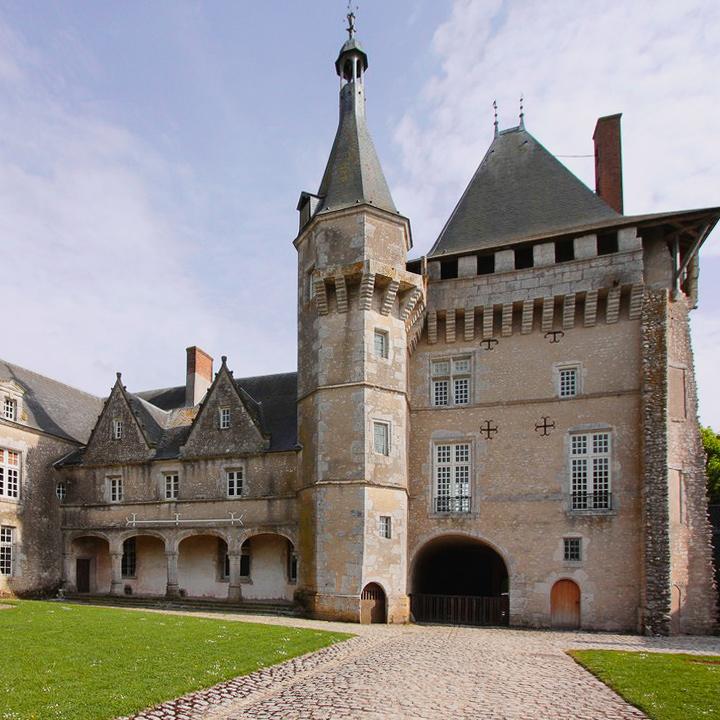 Château de Talcy en Loir et Cher