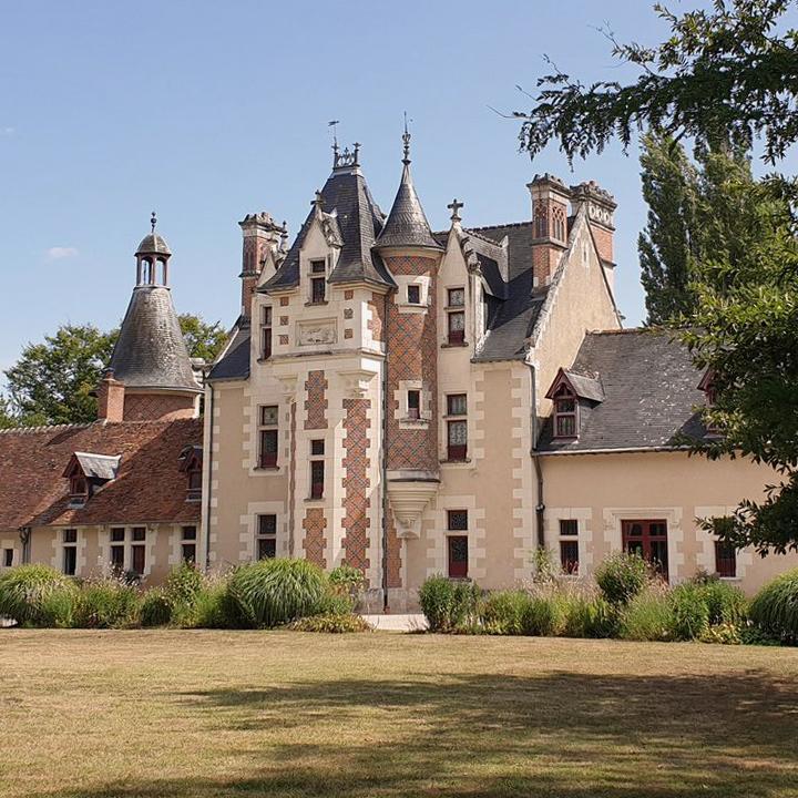 Le château de Troussay à Cheverny en Loir et Cher