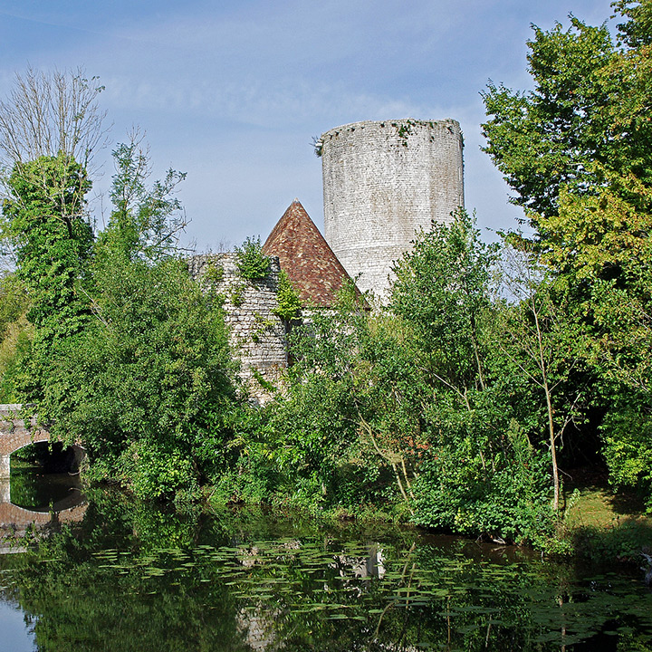 Château d'Alluyes dans l'Eure et Loir