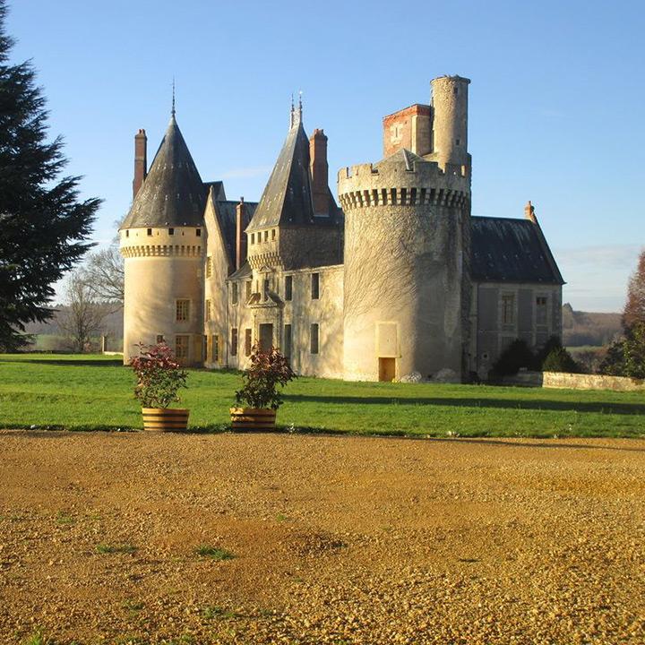 Château des Bordes dans la Nièvre