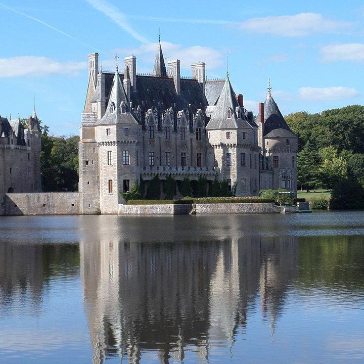 Château de Bretesche en Loire Atlantique