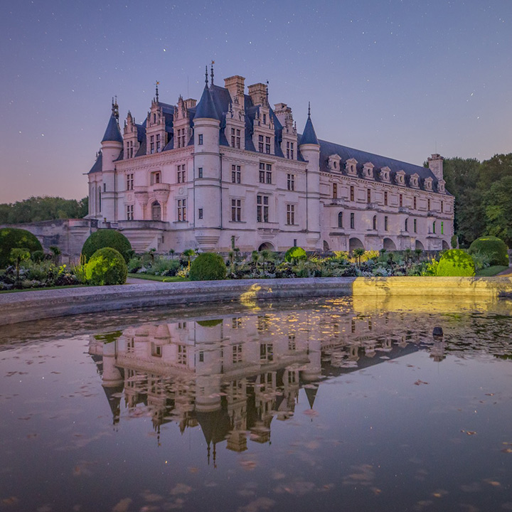 Château de Chenonceau en Indre-et-Loire